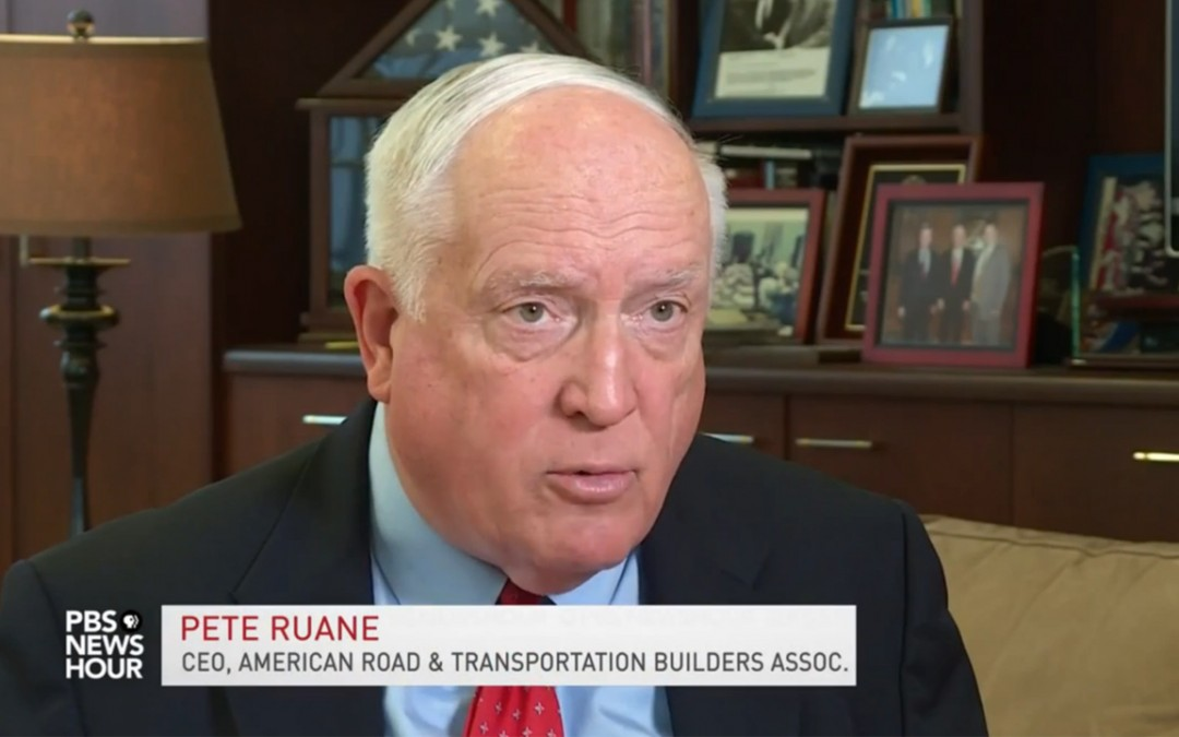 ARTBA CEO Pete Ruane Featured on National Broadcast Reviewing the Year in Congress