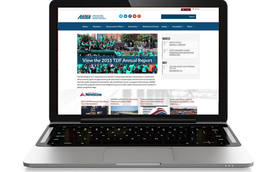ARTBA's Revised Websites Make More Information Easier to Access
