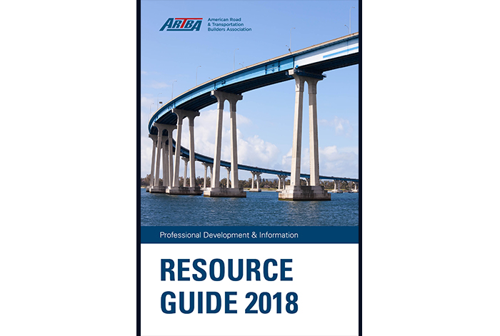ARTBA's Annual Resource Guide Details Membership Benefits