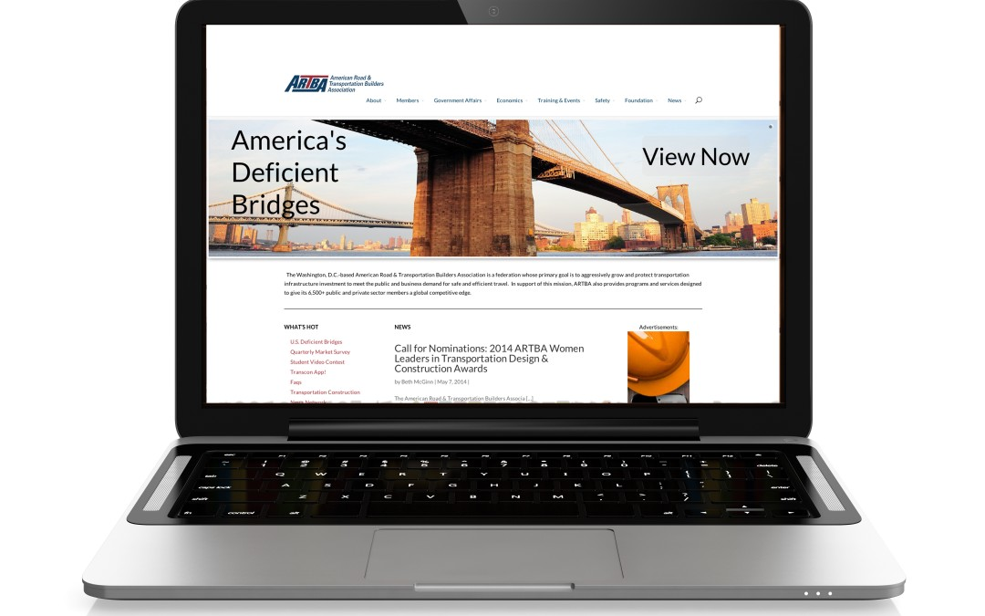 ARTBA Launches New Flagship Website