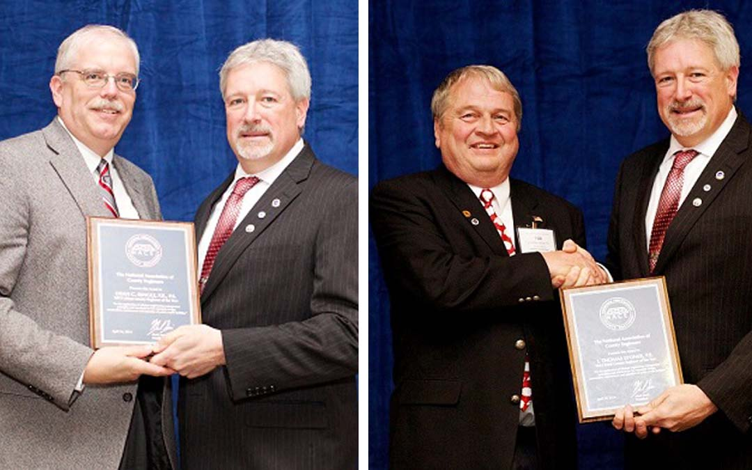 "ARTBA Members Stoner & Ringle Honored With ""Engineer of the Year"" Awards"