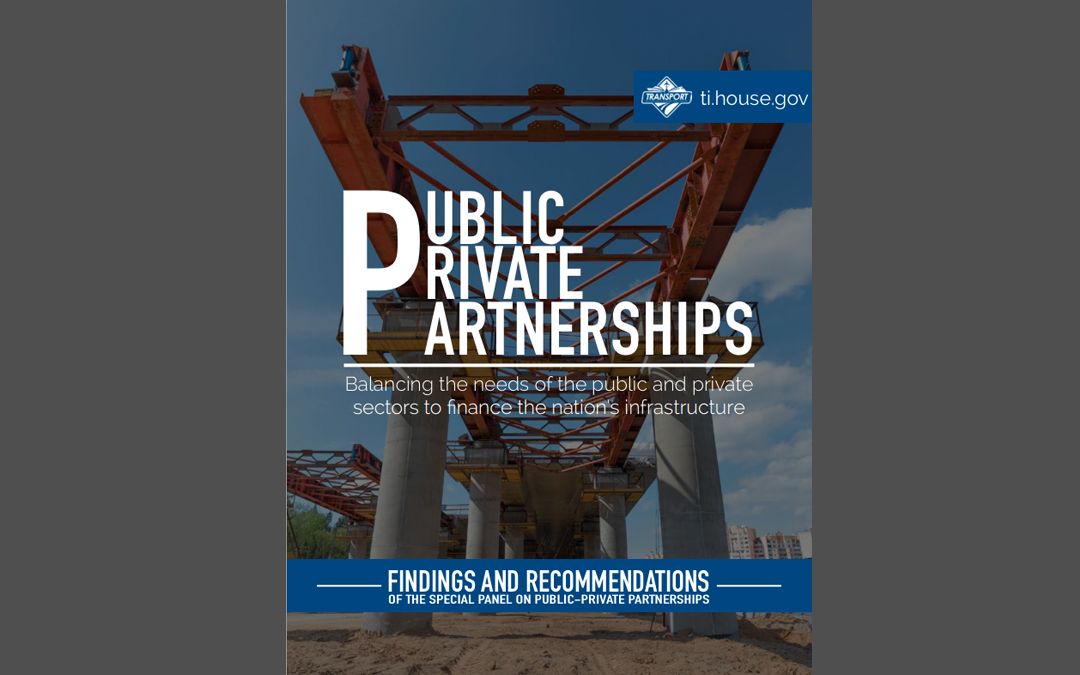 House Panel Unveils P3 Policy Recommendations