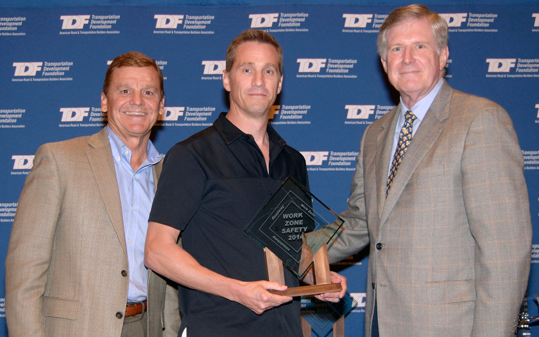 Companies Honored for Promoting Work Zone Safety
