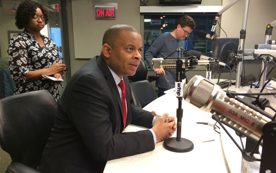 Foxx Highlights Importance of Infrastructure Investment on D.C.'s Top News Talk Radio Station