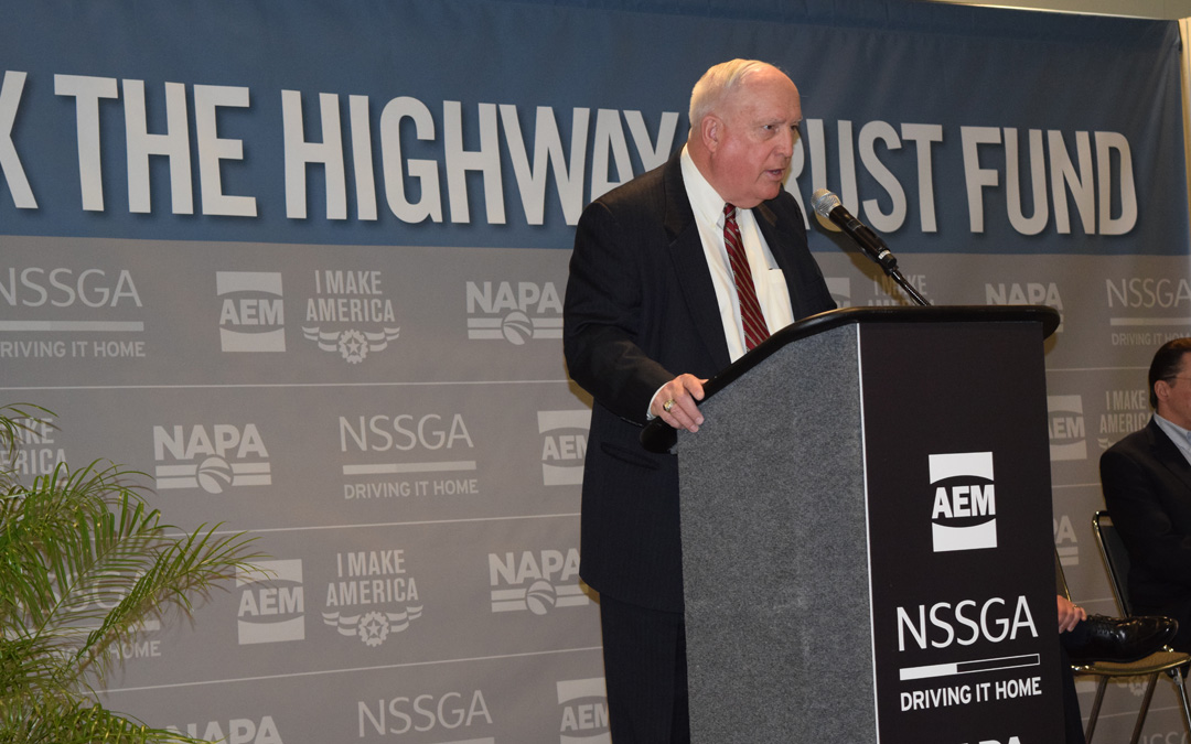 ARTBA & Industry Allies Rally for Highway Trust Fund Fix at World of Asphalt