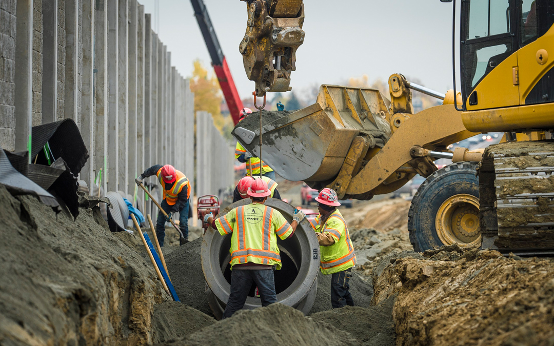 Highway & Bridge Construction Employment Outpaces Other Construction Sectors