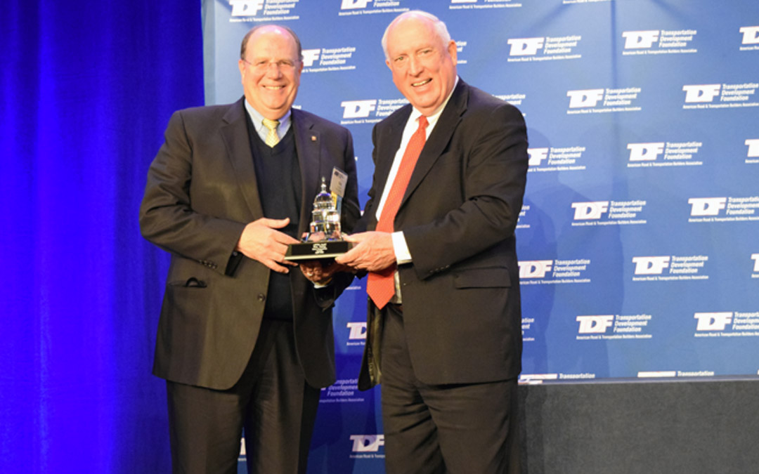 Terex Chief DeFeo Honored with 2014 ARTBA Award