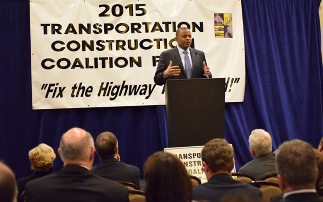 Foxx & Congressmen address Highway Trust Fund crisis with ARTBA and TCC members