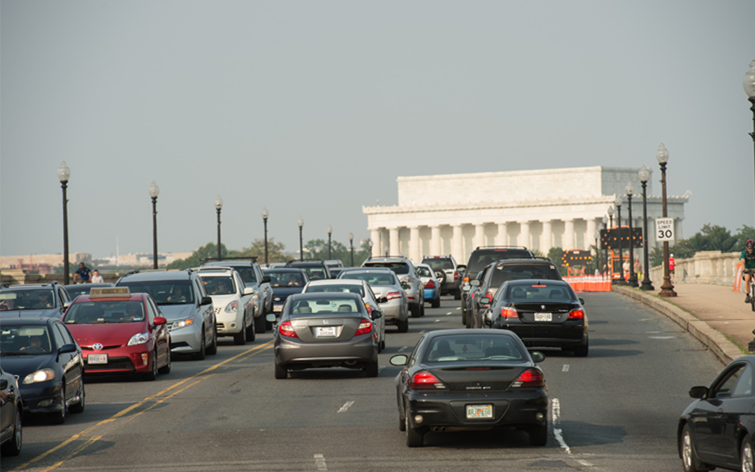 D.C. #1 in Political Gridlock and Now in Traffic Gridlock