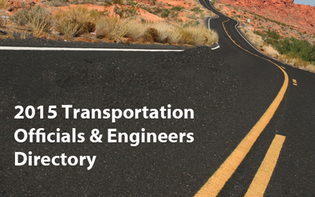 ARTBA's 2015 Transportation Officials & Engineers Database Now Available