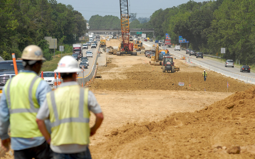 Road & Bridge Construction Jobs Continue to Outpace General Construction
