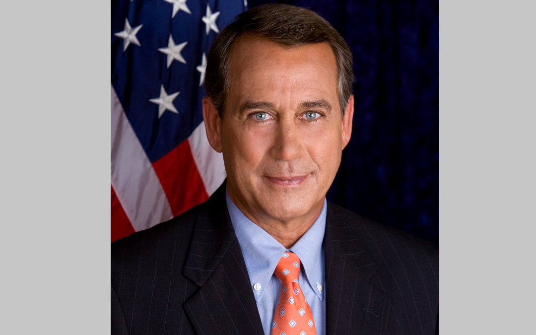 House Speaker Boehner Announces Resignation