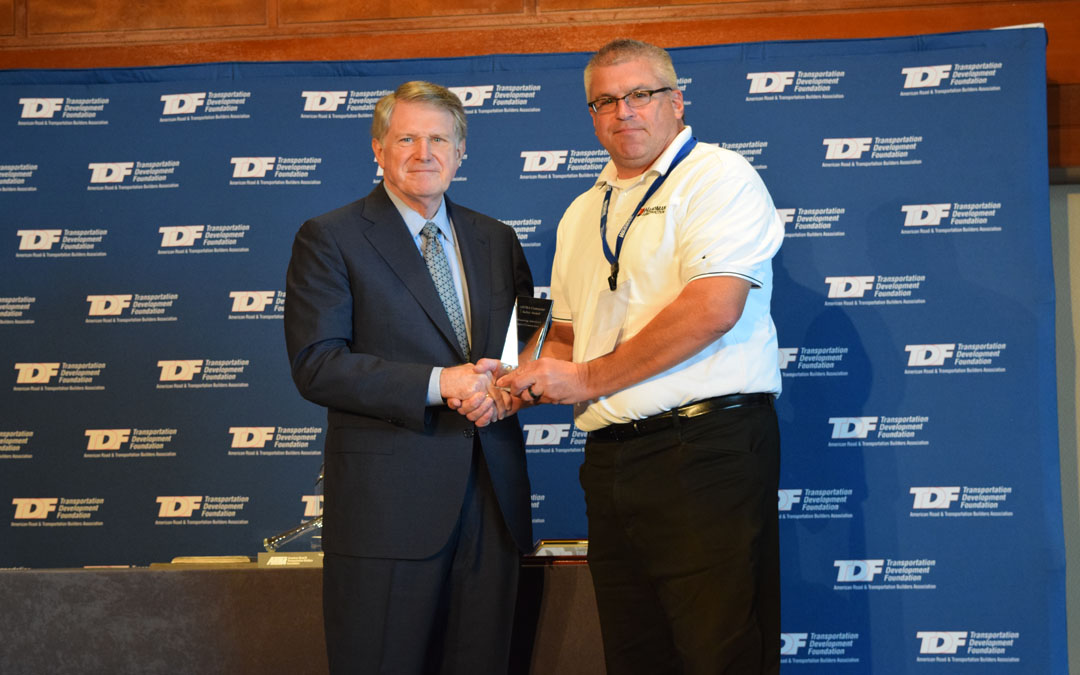 ARTBA-TDF Reveals Contractor Safety Awards at Philly Convention