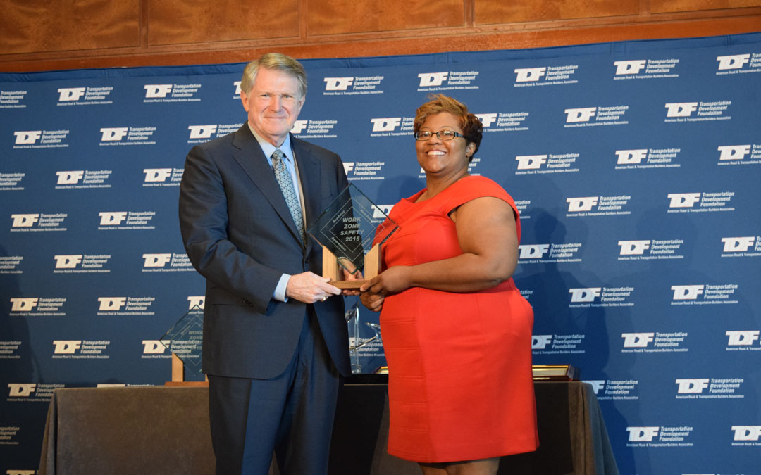 ARTBA Honors Outstanding Efforts in Work Zone Safety