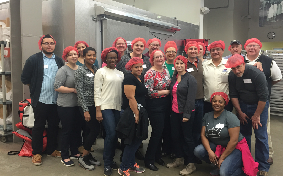 ARTBA Volunteers Help D.C.'s Food & Friends