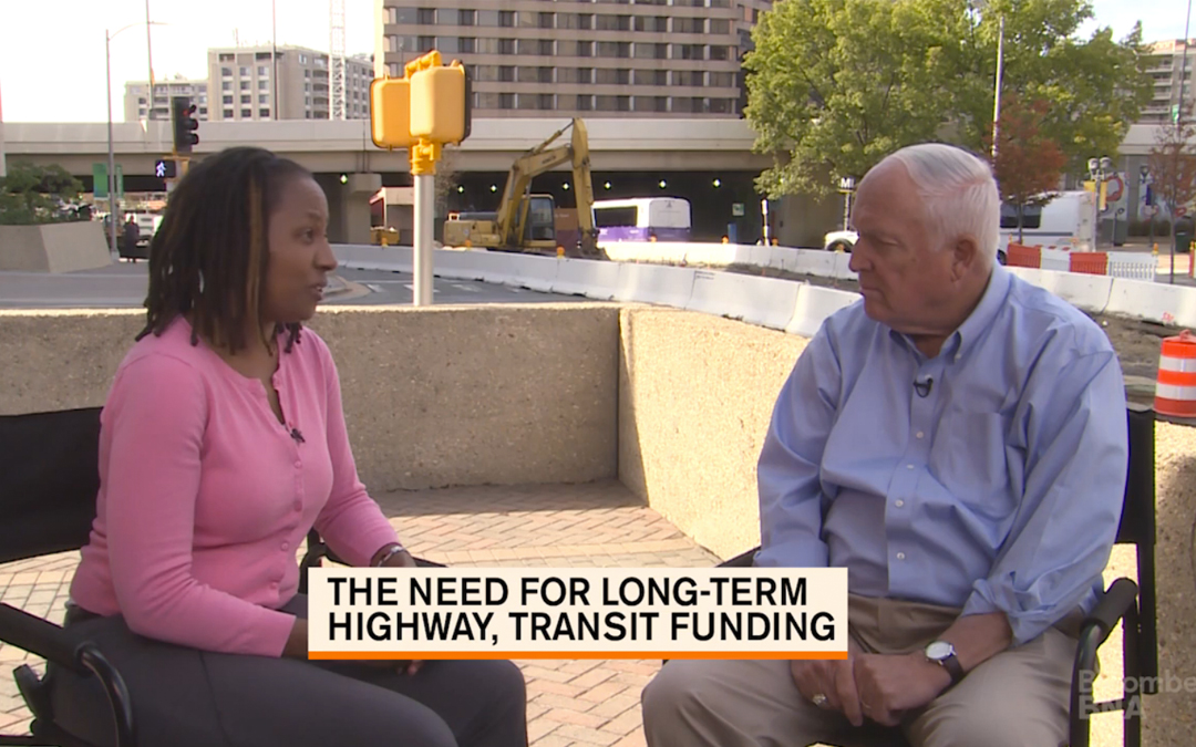 ARTBA CEO Pete Ruane Talks Highway & Transit Funding with Bloomberg BNA