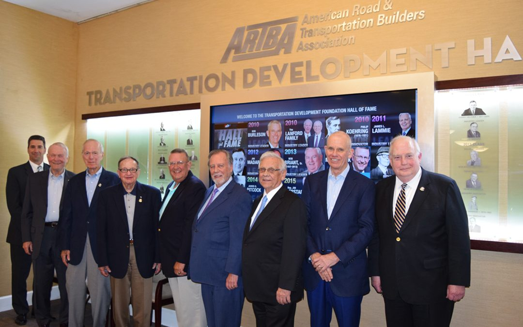 ARTBA Foundation Hall of Fame Officially Opened