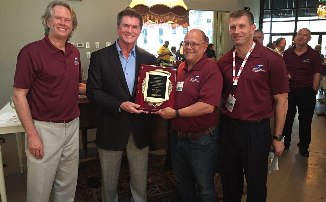 ARTBA Presents Landen Memorial Safety Award