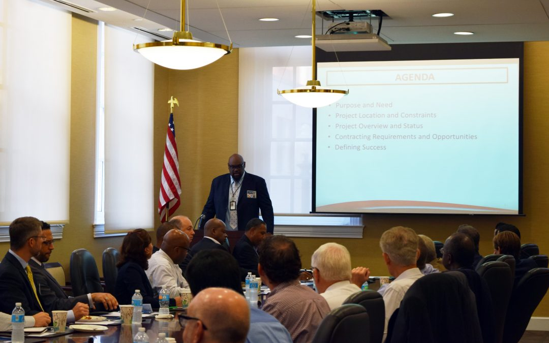 Local D.C. Chapter Briefed on Two Major Projects