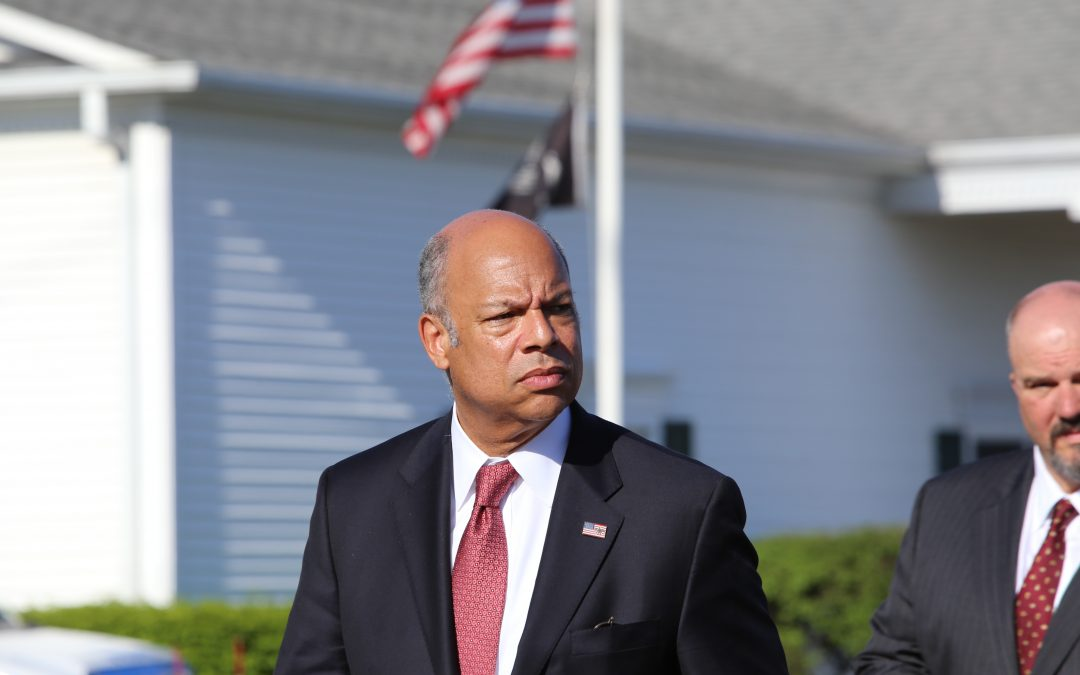 U.S. Homeland Security Secretary Johnson Expects New Administration to Embrace Infrastructure Protection