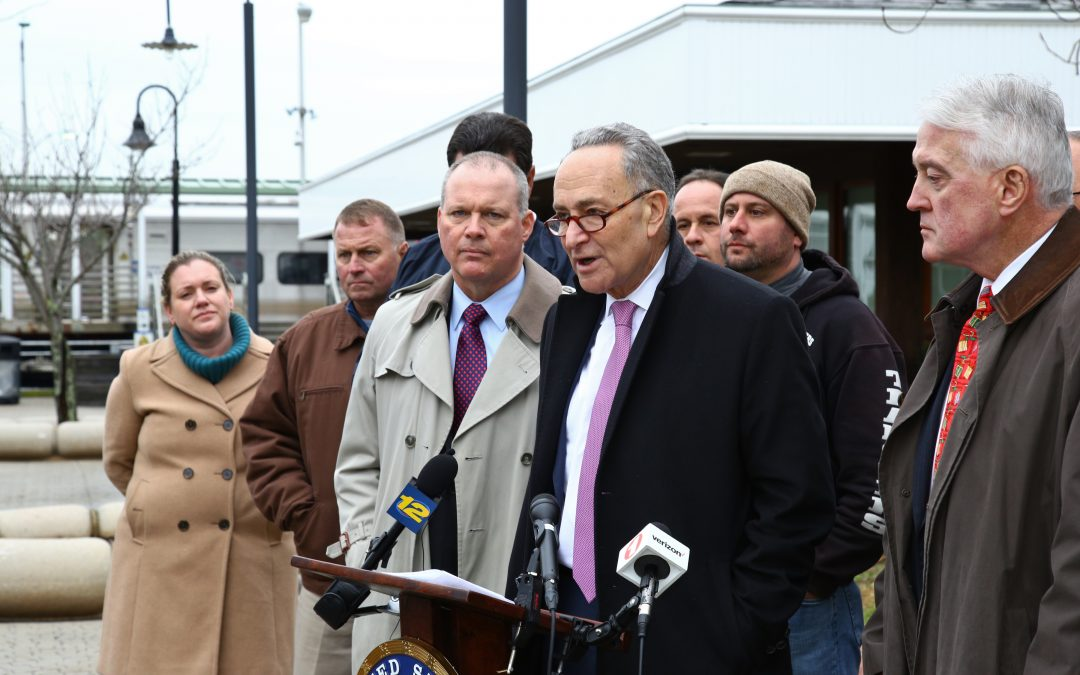 Senator Schumer and Industry Advocates Urge Big Infrastructure Spending