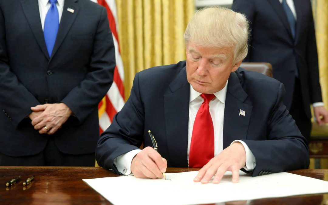 President Trump Signs Executive Orders to Speed Project Reviews