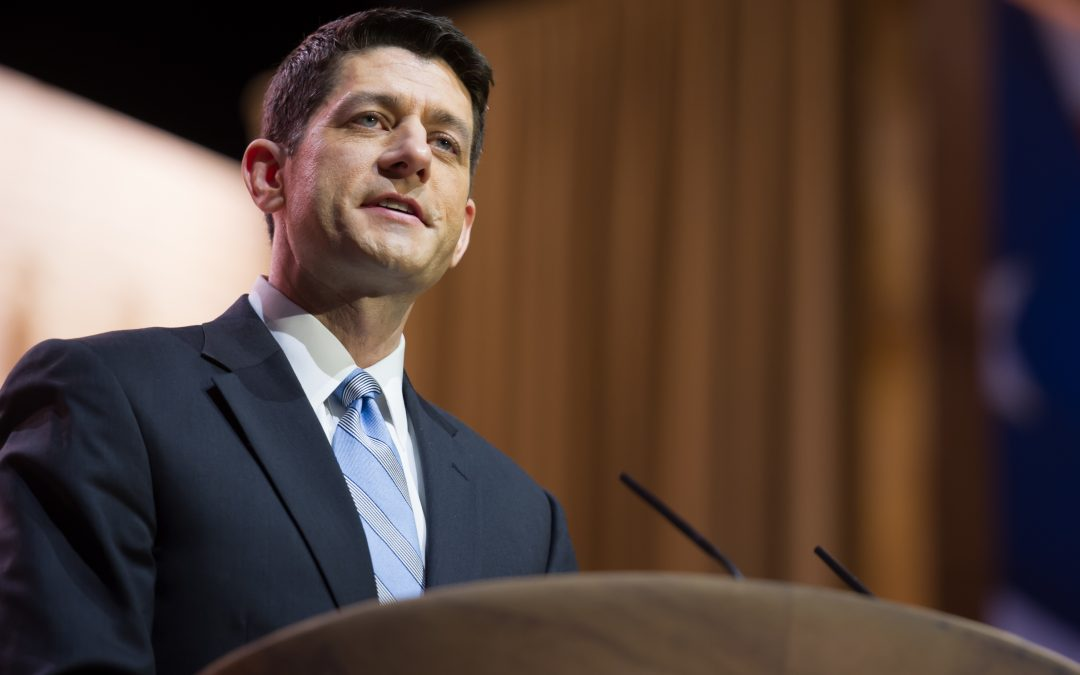 "Ryan's ""First 200 Days"" Agenda Includes Infrastructure"