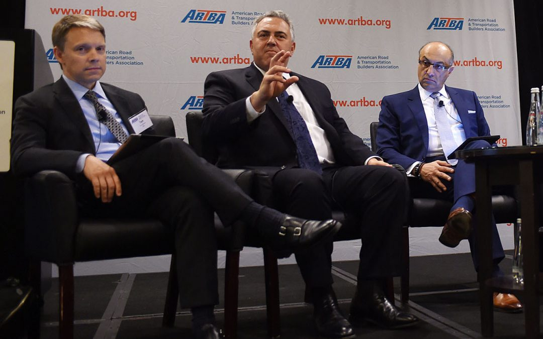 "Asset Recycling Center of ""Great Debate"" at ARTBA's P3 Conference"