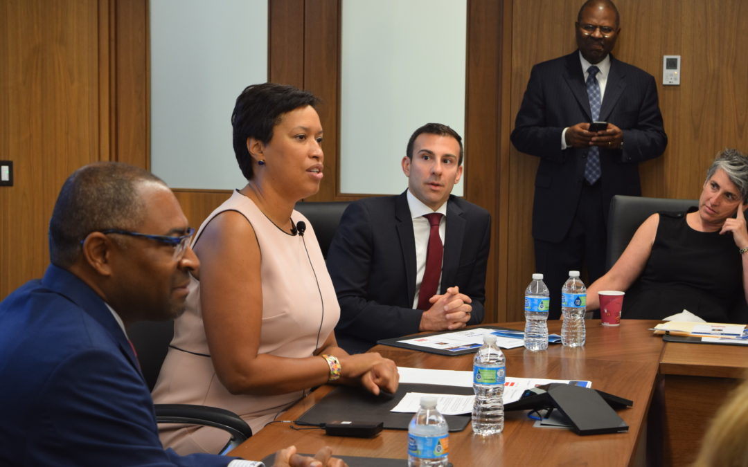 D.C. Mayor Bowser Details Transportation Projects
