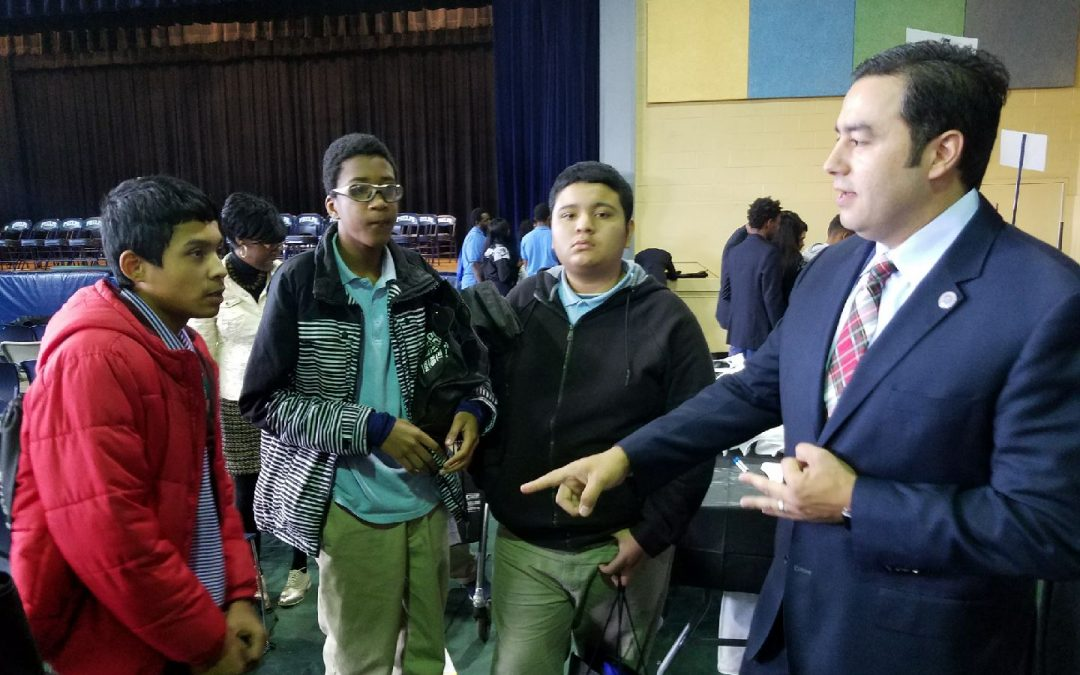 ARTBA's D.C. Chapter Engages Local High School Engineering Students