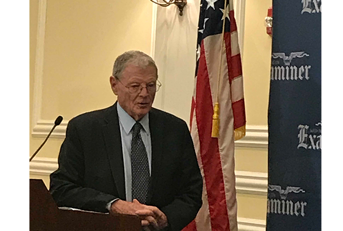 Sen. Inhofe Supports Indexing Gas Tax to Inflation