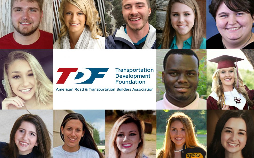 ARTBA Foundation Provides 13 Lanford Family Highway Worker Memorial Scholarships