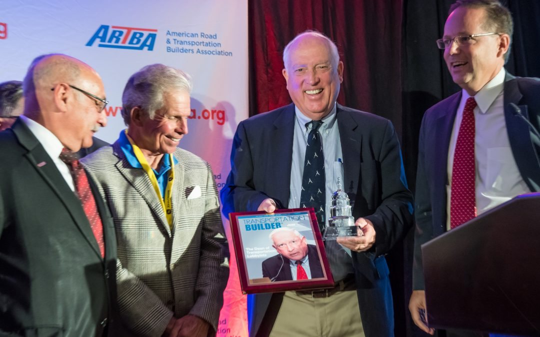 Industry Titan Pete Ruane Honored with ARTBA Award