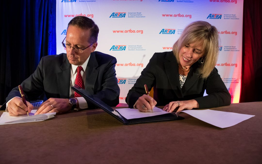 ARTBA and Women's Transportation Seminar International Form Alliance