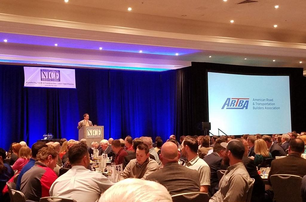 ARTBA Supports National Industry for Construction Excellence Event