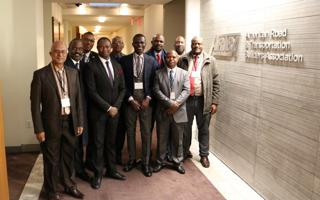 African Delegation Gains Transportation & Traffic Safety Insights from ARTBA