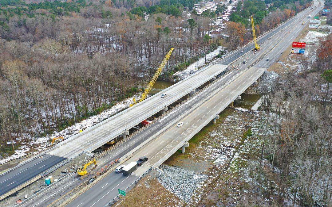 Wagman Heavy Civil, Inc. Opens I-95 Northbound Bridge in Virginia