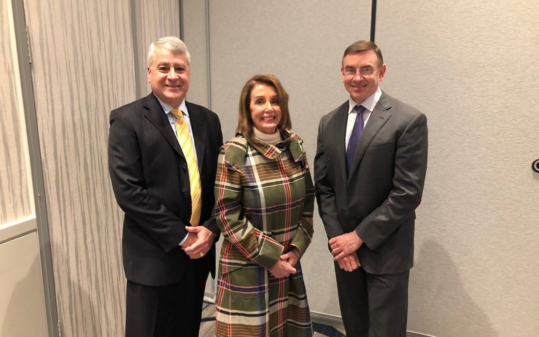 House Speaker Pelosi & FHWA's Nason Highlight Key Week in D.C.