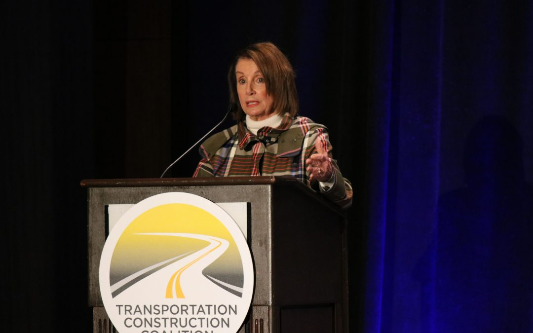 House Speaker Nancy Pelosi 'Confident' of Infrastructure Bill