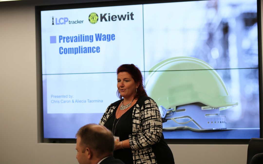 Partnerships and Diligence Yield Prevailing Wage Compliance