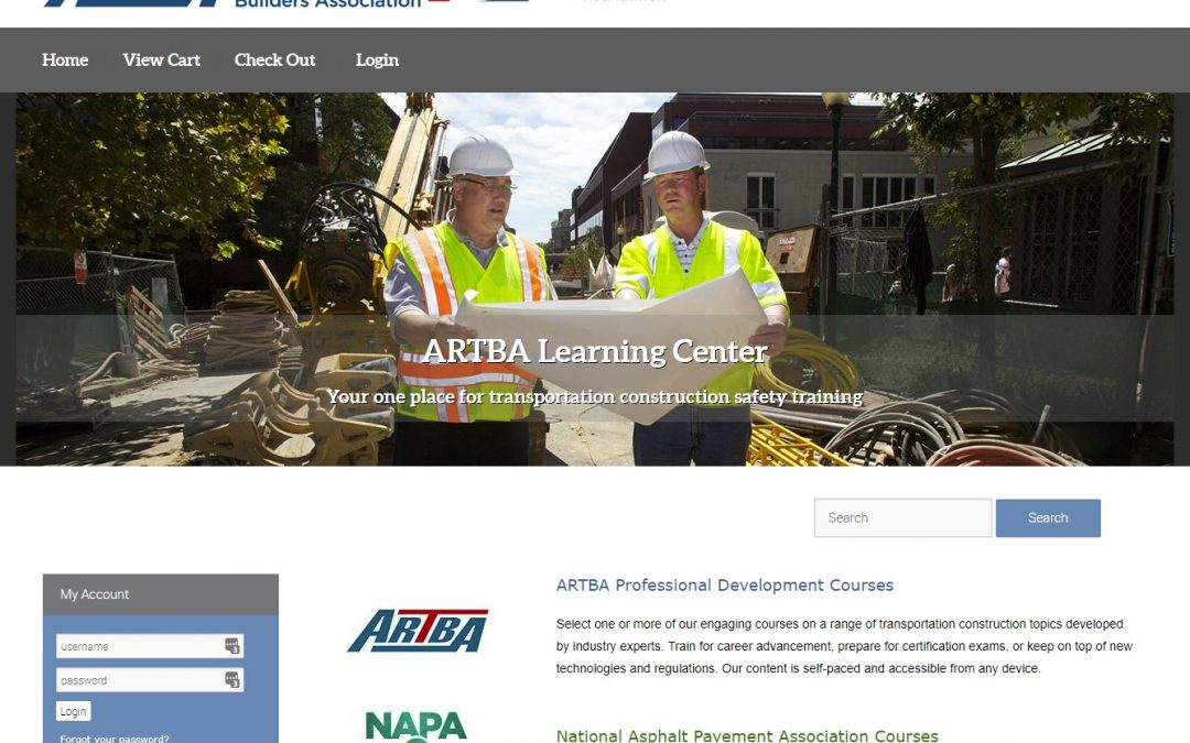 ARTBA's Online Learning Center Promotes Safety