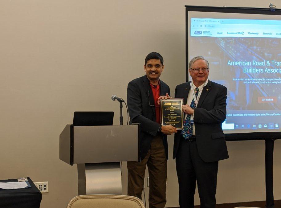 Carnegie Mellon's Chris Hendrickson Wins S.S. Steinberg Award