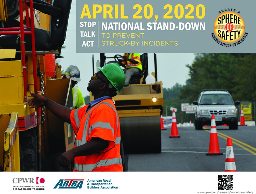 National Work Zone Awareness Week Opens Monday With Online Stand-Down