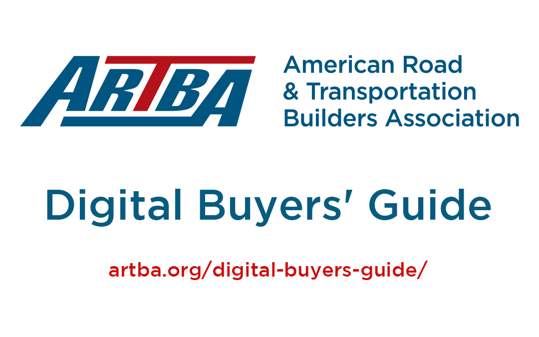 ARTBA Launches Improved Digital Buyers' Guide