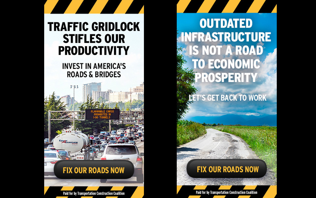 New Advertising Campaign Urges Congressional Action on Transportation Infrastructure