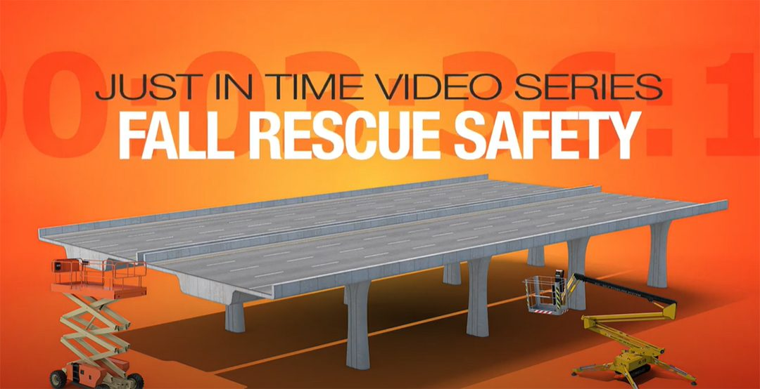New ARTBA Safety Video Highlights Fall Rescue Techniques on Construction Sites